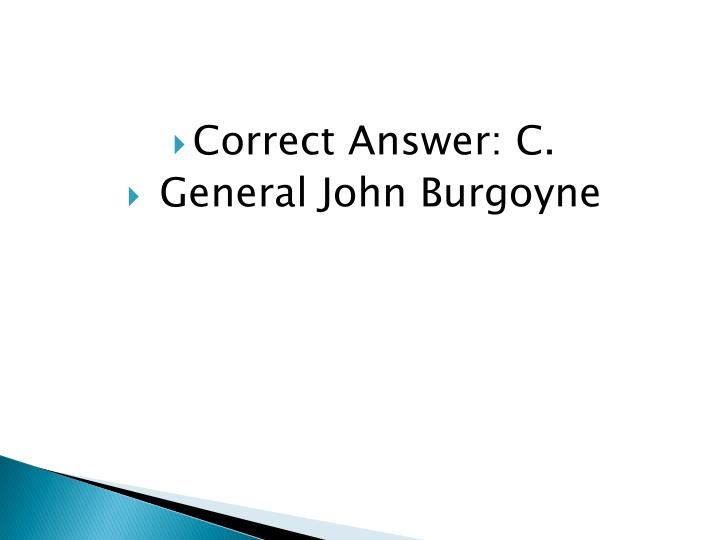 Correct Answer: C.