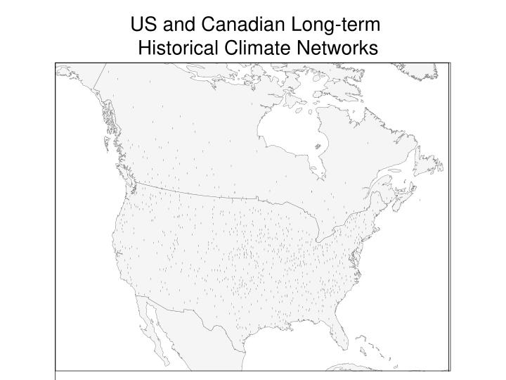 US and Canadian Long-term