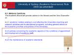 university of sydney academic governance rule 2003 as amended1