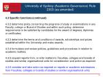 university of sydney academic governance rule 2003 as amended6