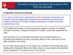 university of sydney academic governance rule 2003 as amended7