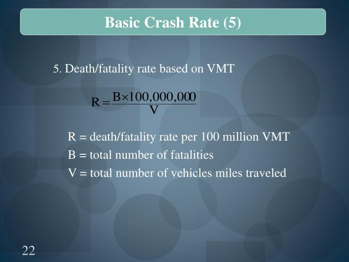 Basic Crash Rate (5)