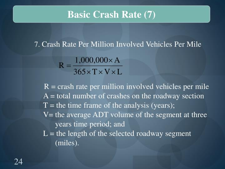 Basic Crash Rate (7)