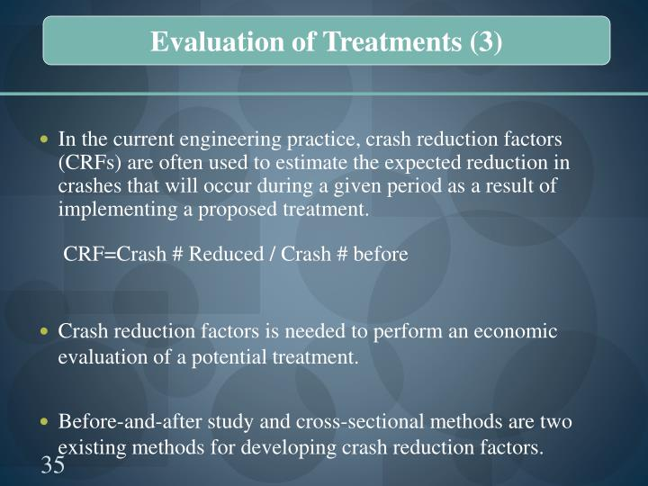 Evaluation of Treatments (3)