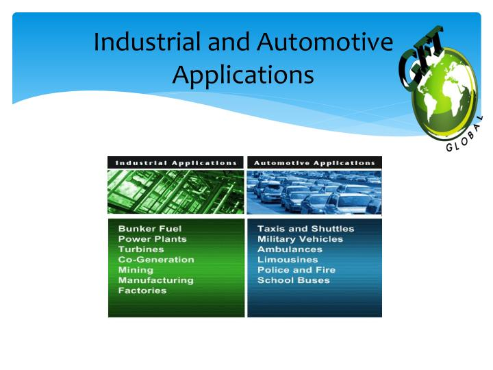 Industrial and Automotive Applications