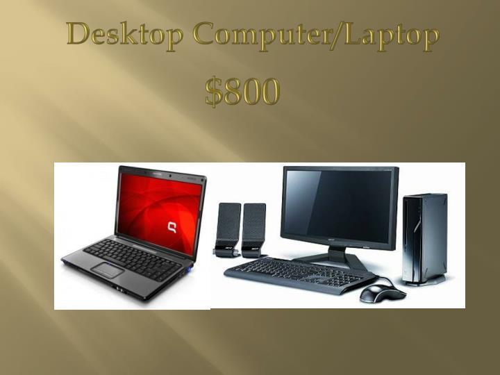 Desktop Computer/Laptop