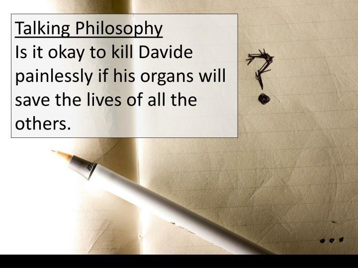 Talking Philosophy