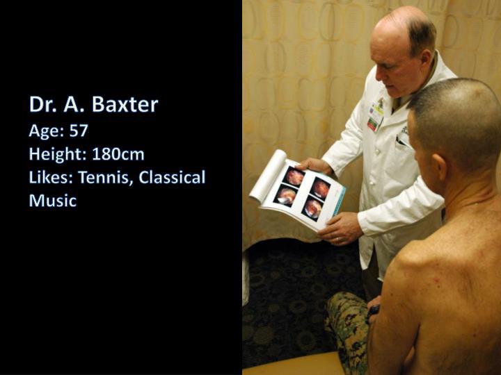 Dr. A. Baxter