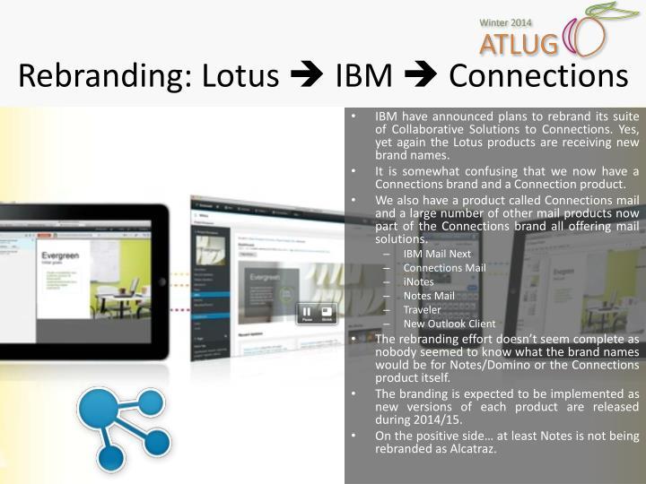 Rebranding: Lotus
