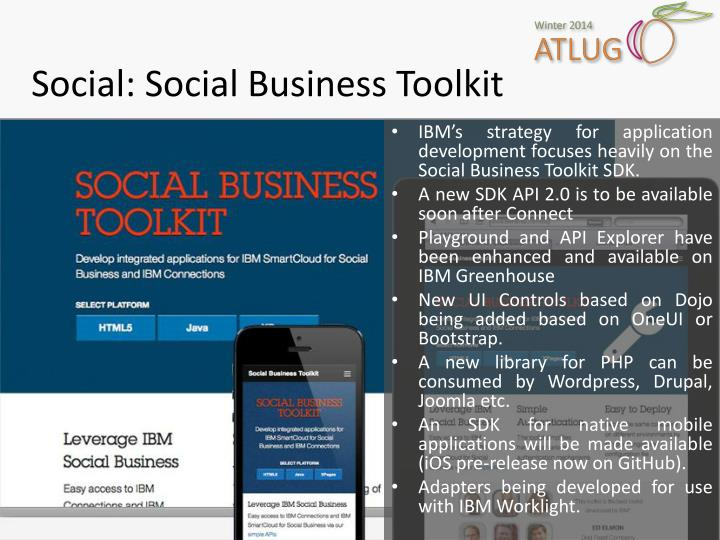 Social: Social Business Toolkit
