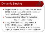 dynamic binding1