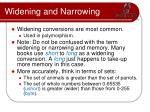 widening and narrowing1