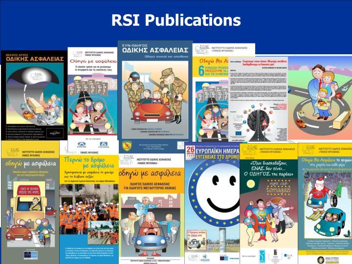 RSI Publications