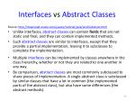 interfaces vs abstract classes1