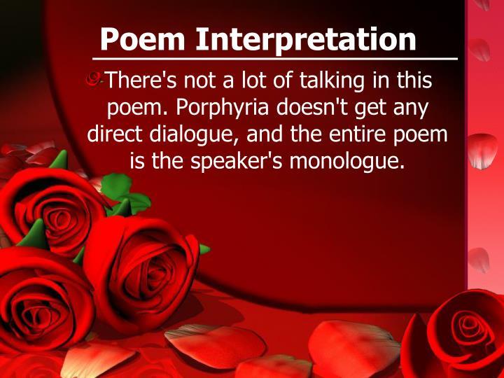 Poem Interpretation