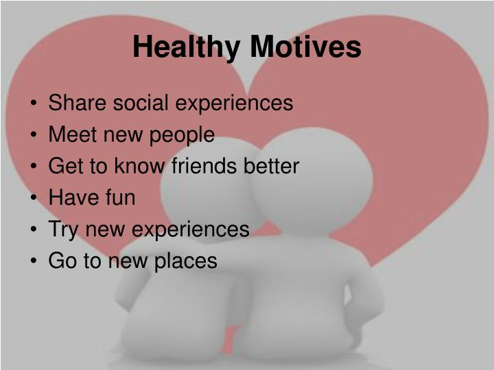 Healthy Motives