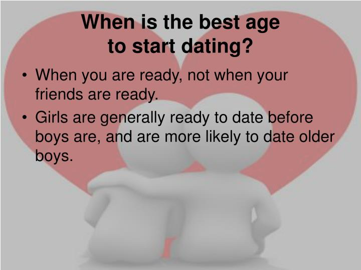 When is the best age