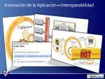 innovaci n de la aplicaci n interoperabilidad