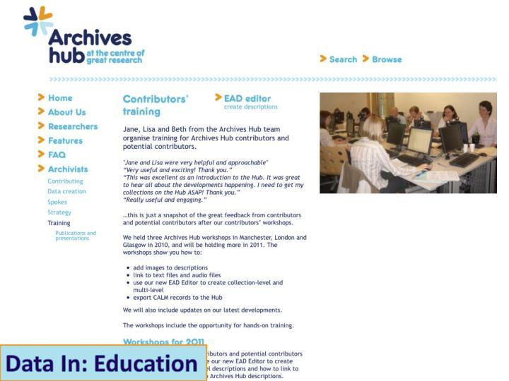 Data In: Education