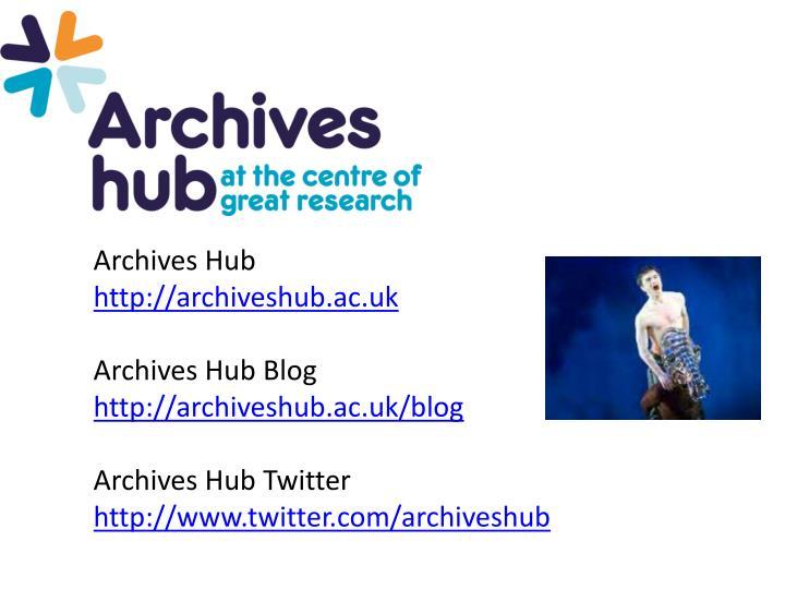 Archives Hub