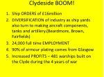 clydeside boom