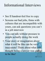 informational interviews1