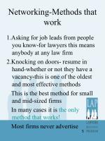 networking methods that work