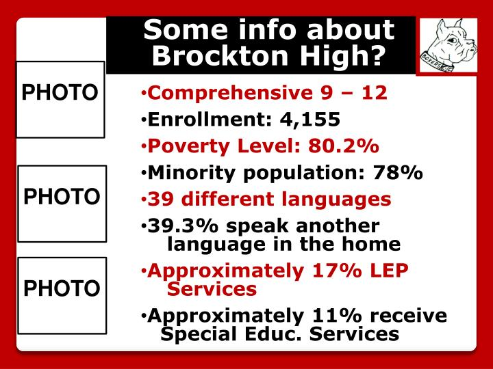 Some info about Brockton High?