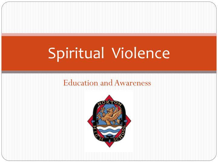 Spiritual  Violence