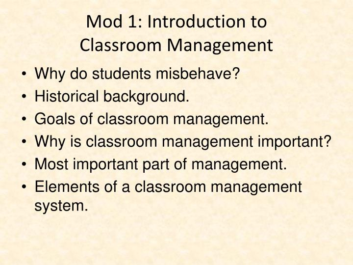 Mod 1: Introduction to