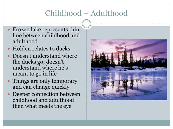 Childhood – Adulthood