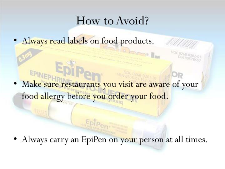 How to Avoid?