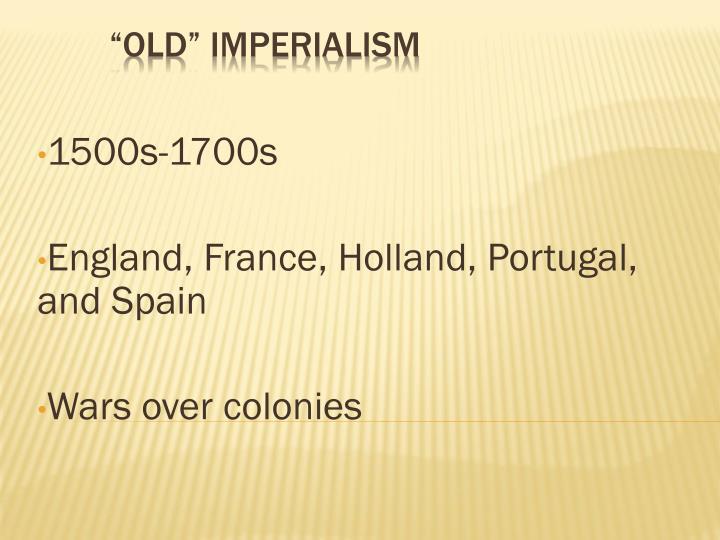 1500s-1700s