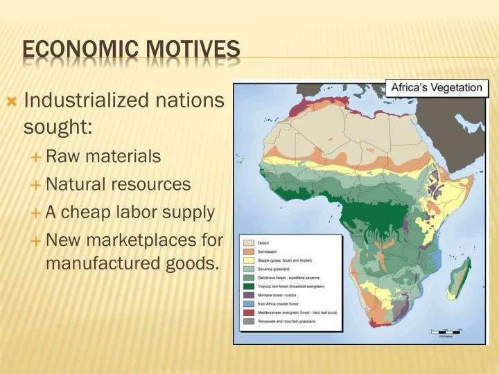 Industrialized nations sought: