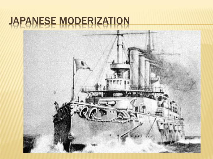 Japanese Moderization