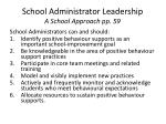 school administrator leadership a school approach pp 59