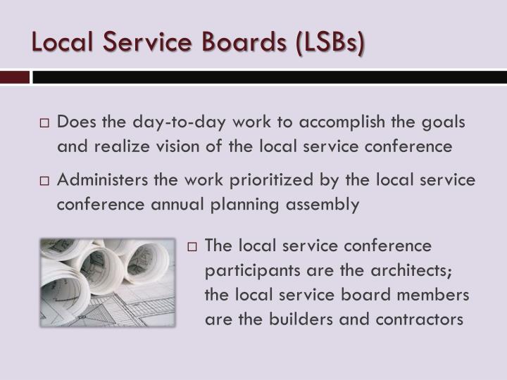 Local Service Boards (LSBs)