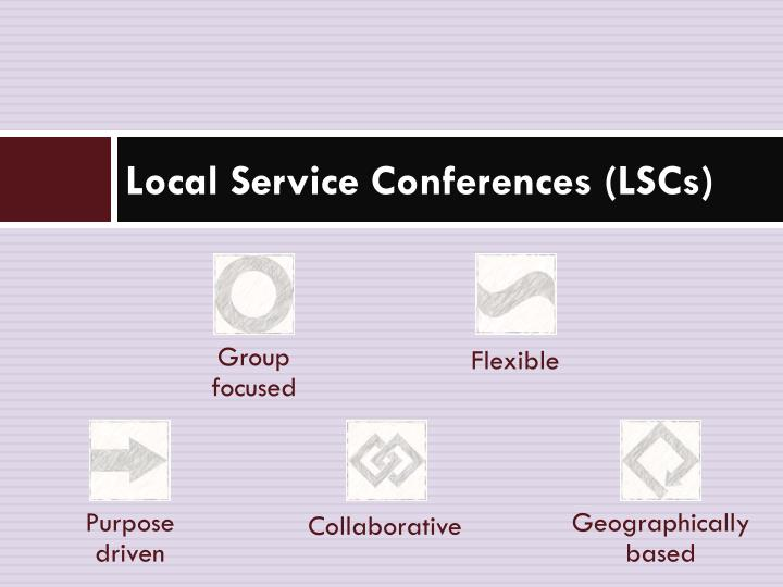 Local Service Conferences (LSCs)
