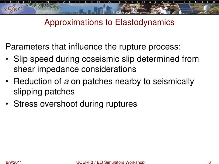 Approximations to