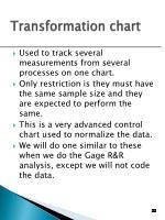 transformation chart