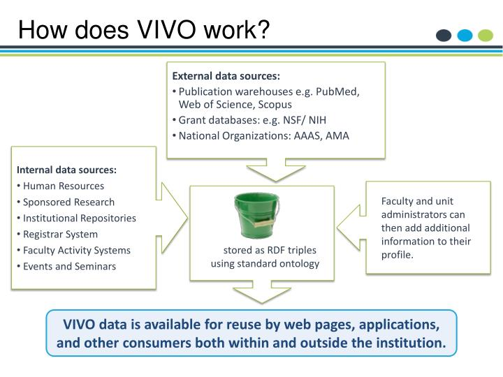 How does VIVO work?