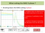 what cutting the mao 3 phase