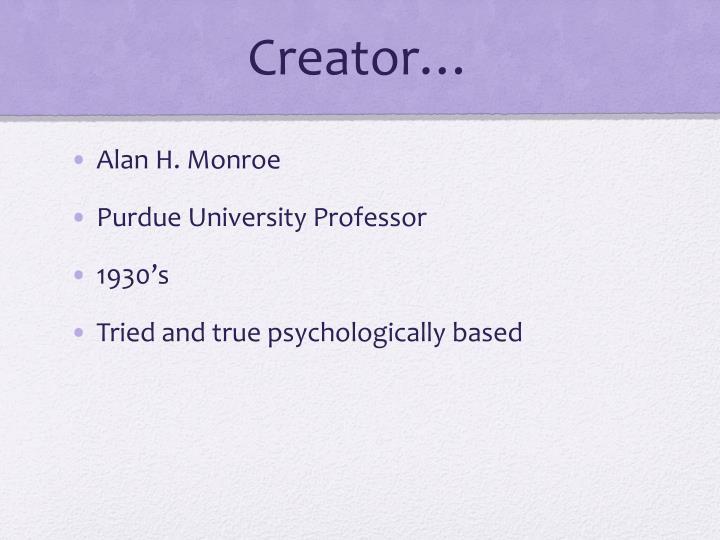 Creator…
