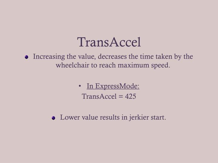 TransAccel