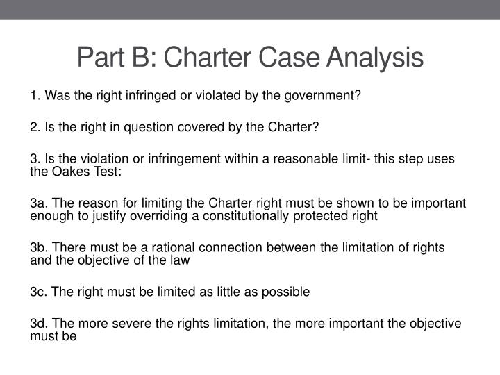 Part b charter case analysis1
