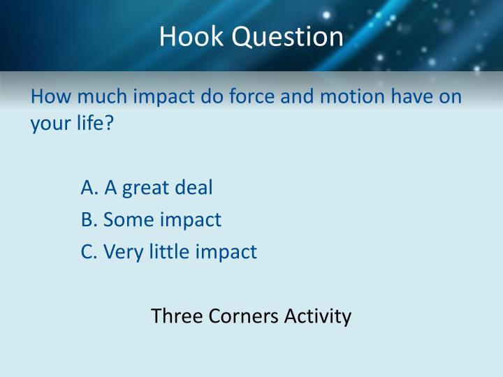 Hook Question