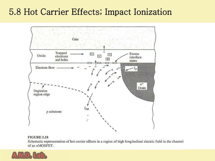 5.8 Hot Carrier Effects
