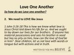 love one another14