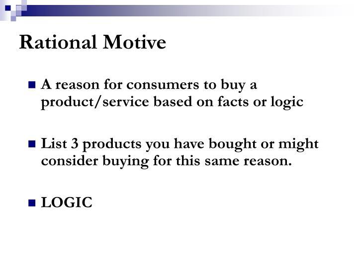 Rational Motive