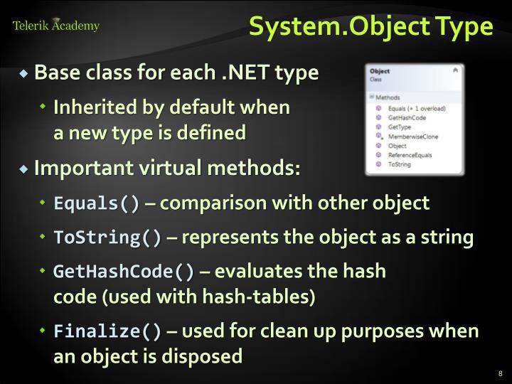 System.Object Type